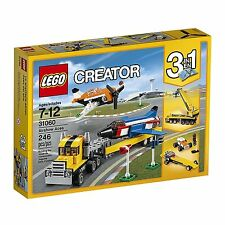 (NEW SEALED) LEGO 31060 CREATOR 3 IN 1 AIRSHOW ACES BUILDING BLOCKS TOY PLANES