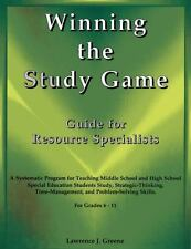 Winning the Study Game: Guide for Resource Specialists: A Systematic Program for