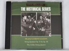 2 CD Set  Historical Series FRANZ JOSEPH HAYDN String Quartets 2005 Vanguard
