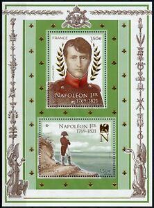 France People Stamps 2021 MNH Death of Napoleon I Historical Figures 2v M/S