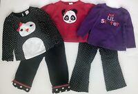 Gymboree Girls Outfits Sets Lot Shirts Pants Sweater VGUC Size 18-24 Months & 2T