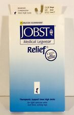 Jobst Knee High Moderate Compression Stocking 114806 Knee CT Beige - Small