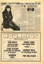 Al Stewart UK Interview + Move Idle Race Judas 1970