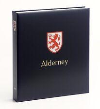 Stanley Gibbons Davo stamp album Alderney I 1983-2015 hingeless new!