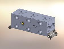 Hydraulic Manifold A5P33S // AD05P033S // BM-ASP05S3-03-1/Z // BAO5GPS03SDUAAAA