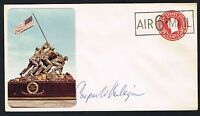 Caspar Cap Weinberger (d. 2006) signed autograph Postal Cover Sec. of Defense