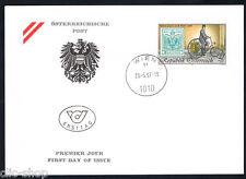 AUSTRIA 1 BUSTA PRIMO GIORNO FDC WIPA 1997