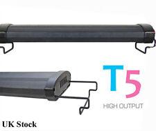 "T5 Aquarium 24"" Fish Tank Overhead Lighting Two Tube System 60cm"
