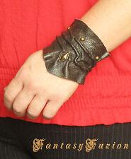 Steampunk Vintage Fashion Leather Cuff Bracer Bracelet