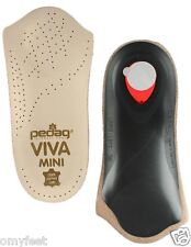 Pedag Viva Mini Orthotic Arch Support 3/4 Length Holiday Insole Size Women 7 #37