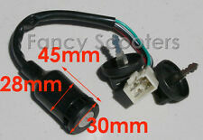 4 Wire Ignition Switch+Key For Eton Viper Sierra Impuls 50cc 70cc 90cc ATV Quad