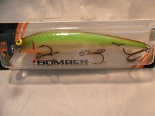 """Bomber Long """"A"""" Jade Minnow New In Package 15A Game Fish Bait #2"""