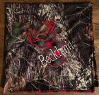 New Mossy Oak Breakup Camoflauge Baby Blanket w/ Buck head with Name Embroidered