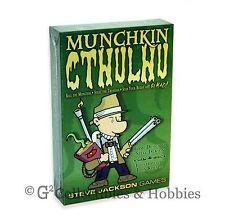 NEW Munchkin Cthulhu Core Card Game CoC Steve Jackson