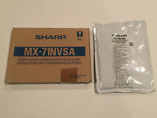 Sharp MX-71NVSA (CMY) & MX-71NVBA (Black) Developer