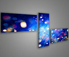 Quadri moderni astratti 180 x 70 stampe su tela canvas con telaio MIX-S_79