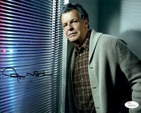 JOHN NOBLE Signed FRINGE 8x10 Photo LORD OF THE RINGS Autograph JSA COA Cert