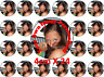 Your Picture Personalised Edible Icing/Rice Wafer Birthday Cake Cupcake Toppers