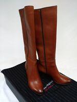 Santoni Women's ITALIAN MADE Leather Boots 100% Authentic USA Seller