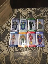 Dc Collectibles Animated Justice League of America Jlu Exclusive Set Of 8 Dcu