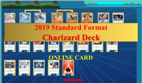 Charizard Deck The Best 2019 Standard Format Pokemon TCG Online PTCGO Sent FAST