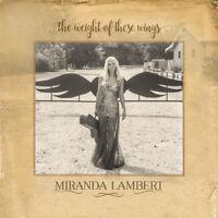 Miranda Lambert : The Weight of These Wings CD 2 discs (2016) ***NEW***