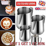 Stainless Steel Milk Frothing Jug Frother Coffee Latte Container Metal Pitcher