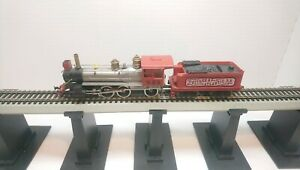 Tyco HO Train W&ARR 1890 Rogers 10 Wheel Powered Steam Locomotive and Tender