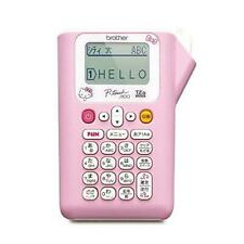 Hello Kitty Label Printer Pink 35mm To 12mm Width Tape