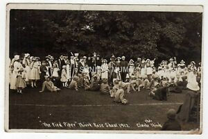 YORKSHIRE, THIRSK, ROSE SHOW, THE PIED PIPER, GROUP, 1912, RP