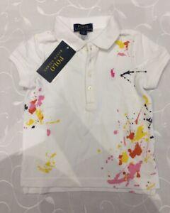 Ralph Lauren Baby Girl's Polo Shirt( 2 Years)