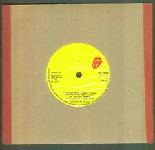 "The Rolling Stones 7"" Single Record 1974 It's Only Rock N Roll RS19114 UK"