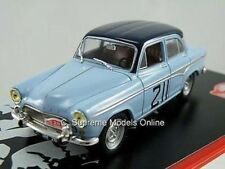 SIMCA ARONDE 1959 RALLY CAR MODEL THOMAS 1/43 2 TONE BLUE EXAMPLE W3412Z (=)
