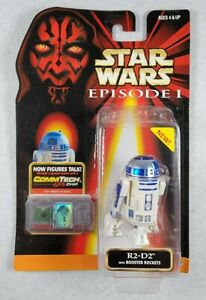 Star Wars Episode 1 R2-D2 Talking Action Figure with CommTech Chip NIP New