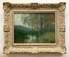George Laurence Nelson -Impressionist Landscape -circa 1911 - Oil on canvas