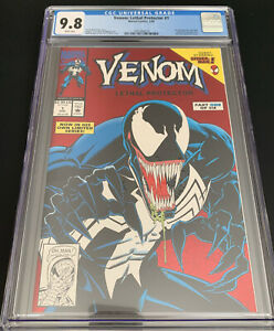 Venom Lethal Protector #1 CGC 9.8 MARVEL - 1st Solo Venom Series 1993