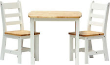 Kids Table and Chairs 2 1 or 4 1 Wooden Set Furniture for Toddlers Children Ilex
