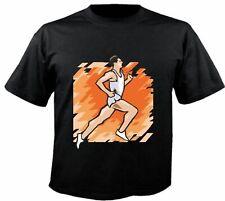 Motiv Fun T-Shirt Joggen Jogger Laufen Sprint Sport Club Hobby Motiv Nr. 6219