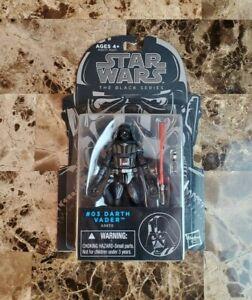 "Darth Vader #03 2014 STAR WARS The Black Series 3.75"" NEW MOC"