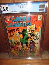 GREEN LANTERN #66 CGC 5.0 DC Comics 1/1969 John Broome Mike Sekowsky Joe Giella