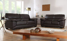 Unbranded Leather Traditional Sofas
