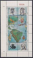 F-EX17930 EL SALVADOR MNH DISCOVERY OF AMERICA COLUMBUS COLON MINI SHEET SHIP