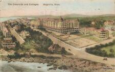 1923 Magnolia Massachusetts Oceanside Cottages hand colored Albertype 5209