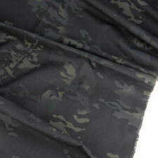 1.5m Width Black Camouflage Multicam Fabric TC Plaids MC BK Cloth DIY Camo Suits