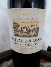 CHATEAU D'AGASSAC - 1999 - Bordeaux Rouge Haut Médoc, Cru Bourgeois gironde 75cl