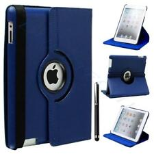 For Apple iPad 2/3/4 360 Rotating Magnetic PU Leather Case Smart Cover Stand KY