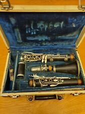 Vintage Martin Freres Woodwinds Clarinet Made in France w/ Original Case