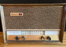 Mid Century General Electric Musaphonic Vacuum Tube Am Fm Radio Works Ge Nice !