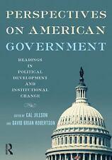 Perspectives on American Government by Cal Jillson, David Brian Robertson