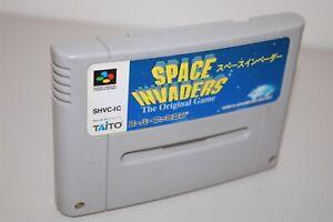 Space Invaders Japan Nintendo Super Famicom sfc game